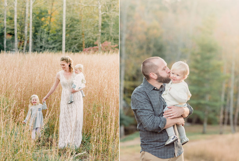 Field of dreams family session